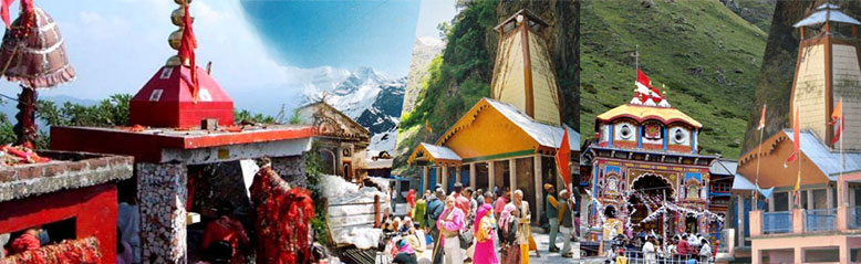 Chardham Yatra with Patal Bhubaneshwar and Purnagiri Temple