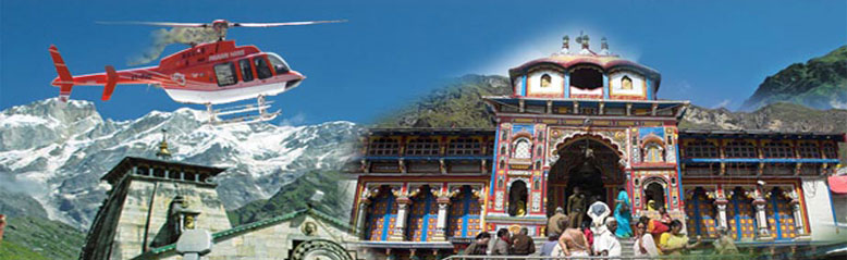 Chardham Yatra by Helicopter from delhi